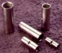 Copper aluminium in line connectors ferrules electrical components